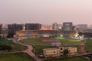 Cricket Ground - Surat, India