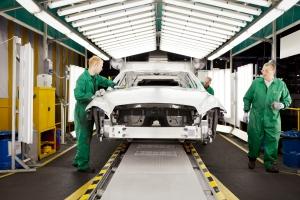 Jaguar Land Rover - UK production line