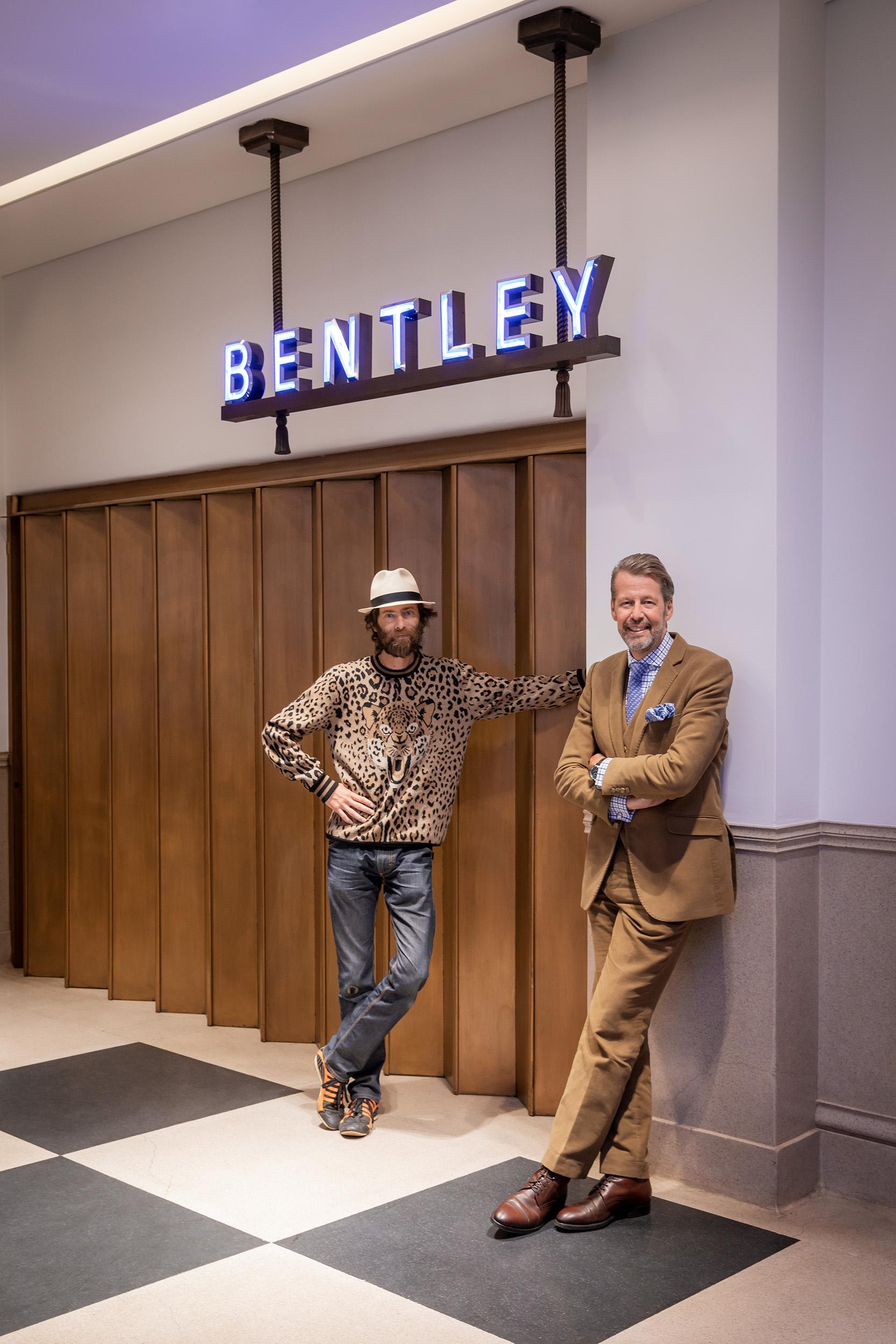 Moritz Waldemeyer - Light Artist & Stefan Sielaff - Director of Design at Bentley