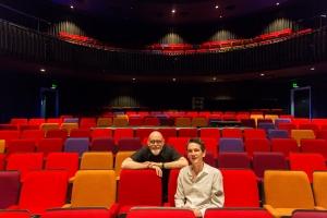 Dave Moutrey - Director of HOME Centre & Ernst Ter Horst - Architect